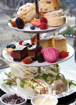 tea time in Britain afternoon tea